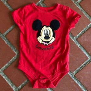 Mickey Mouse Lovable Bodysuit